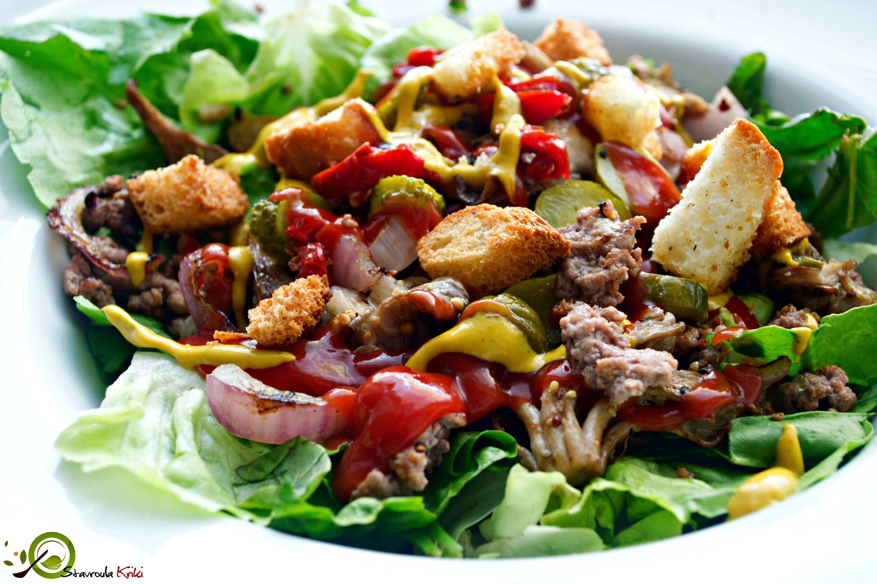 Hamburger Salad 2.2